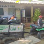 Coleta de lixo em Caraíva passa a ser motorizada